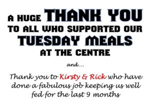 Tuesday Meals at the Centre @ Flagstaff Community Centre   Flagstaff Hill   South Australia   Australia